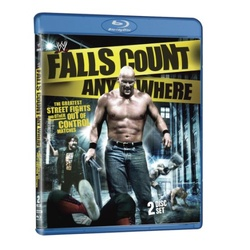 WWE: Falls Count Anywhere: The Greatest Street Fights and other Out of Control Matches Blu-ray Cover