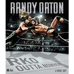 WWE: Randy Orton - RKO Outta Nowhere Blu-ray Cover