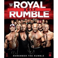 WWE: Royal Rumble 2017 Blu-ray Cover