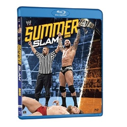 WWE: SummerSlam 2013 Blu-ray Cover