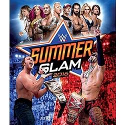 WWE: Summerslam 2016 Blu-ray Cover