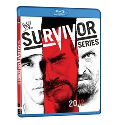 WWE: Survivor Series 2012 Blu-ray Cover