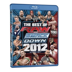 WWE: The Best of Raw and Smackdown 2012 Blu-ray Cover