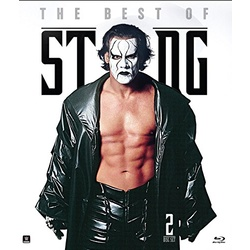 WWE: The Best of Sting Blu-ray Cover