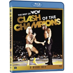 WWE: The Best of WCW Clash of the Champions Blu-ray Cover