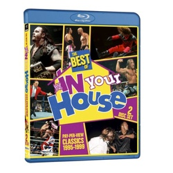 WWE: The Best of WWE in Your House Blu-ray Cover