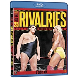 WWE: The Top 25 Rivalries in Wrestling History Blu-ray Cover
