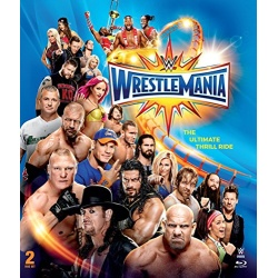 WWE: WrestleMania 33 Blu-ray Cover