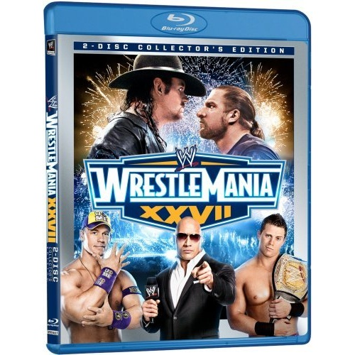 wwe wrestlemania 27 dvd. WWE: Wrestlemania 27