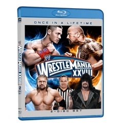 WWE: Wrestlemania XXVIII Blu-ray Cover