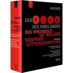 Wagner: Der Ring Des Nibelungen Blu-ray Cover
