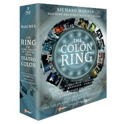 Wagner: The Colon Ring - Der Ring Des Nibelungen in 7 Hours Blu-ray Cover