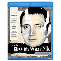 Walerian Borowczyk: Short Films Collection Blu-ray Cover
