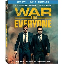 War on Everyone Blu-ray Cover