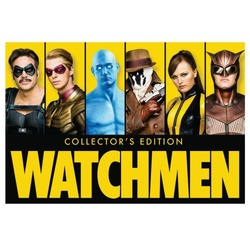 Watchmen (Ultimate Cut + Graphic Novel) Blu-ray Cover