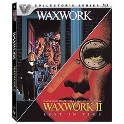 Waxwork / Waxwork II: Lost in Time Blu-ray Cover