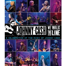 We Walk the Line: A Celebration of the Music of Johnny Cash Blu-ray Cover