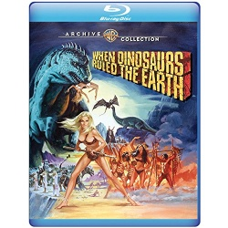 When Dinosaurs Ruled the Earth Blu-ray Cover