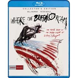Where the Buffalo Roam Blu-ray Cover