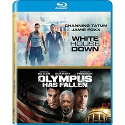 White House Down / Olympus Has Fallen Blu-ray Cover