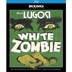 White Zombie Blu-ray Cover