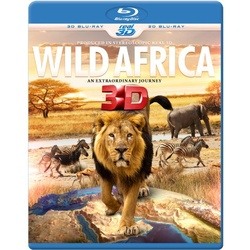 Wild Africa 3D - An Extraordinary Journey Blu-ray Cover
