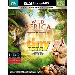 Wild Africa / Tiny Giants Blu-ray Cover