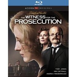 Witness for the Prosecution Blu-ray Cover