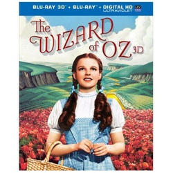 Wizard of Oz 3D Blu-ray Cover