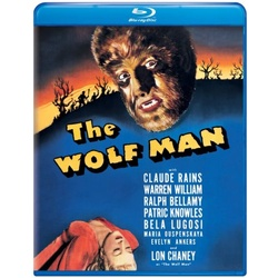 Wolf Man Blu-ray Cover