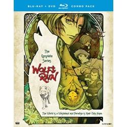 Wolf's Rain Blu-ray Cover