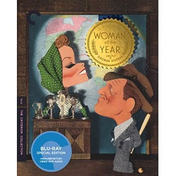 Woman of the Year Blu-ray Cover