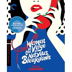Women on the Verge of a Nervous Breakdown Blu-ray Cover