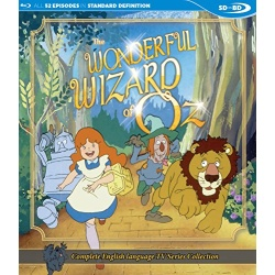 Wonderful Wizard of Oz Blu-ray Cover