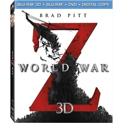 World War Z 3D Blu-ray Cover