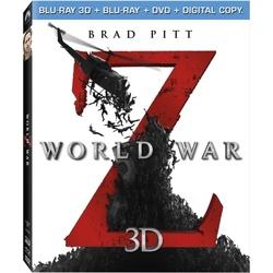 World War Z 3D Blu-ray Cover