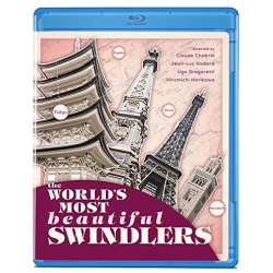World's Most Beautiful Swindlers Blu-ray Cover