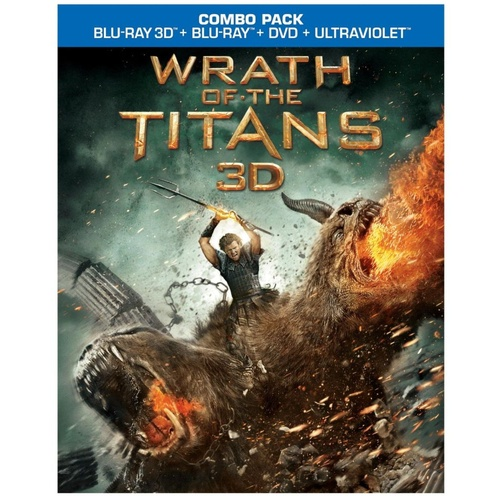 Wrath of the Titans bluray