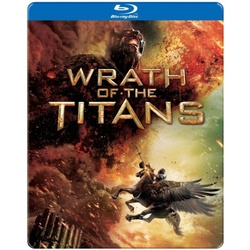 Wrath of the Titans (Steelbook) Blu-ray Cover