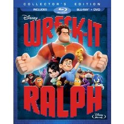 Wreck-It Ralph Blu-ray Cover