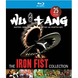 Wu Tang Iron Fist Collection Blu-ray Cover