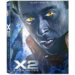 X2: X-Men United Blu-ray Cover