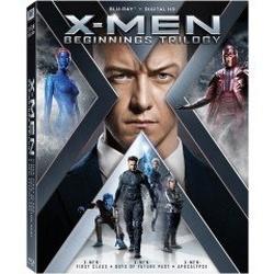 X-Men: Beginnings Trilogy Blu-ray Cover