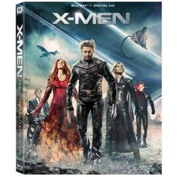X-Men: X-Men / X2: X-Men United / X-Men: The Last Stand Blu-ray Cover