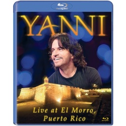 Yanni: Live at El Morro Puerto Rico Blu-ray Cover