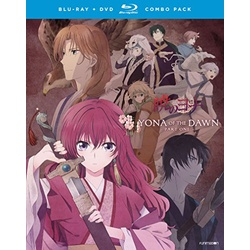 Yona of the Dawn: Part 1 Blu-ray Cover