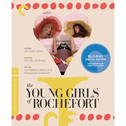 Young Girls of Rochefort Blu-ray Cover