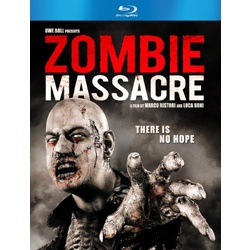 Zombie Massacre Blu-ray Cover