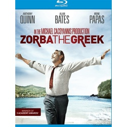 Zorba the Greek Blu-ray Cover