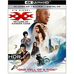 xXx: Return of Xander Cage Blu-ray Cover